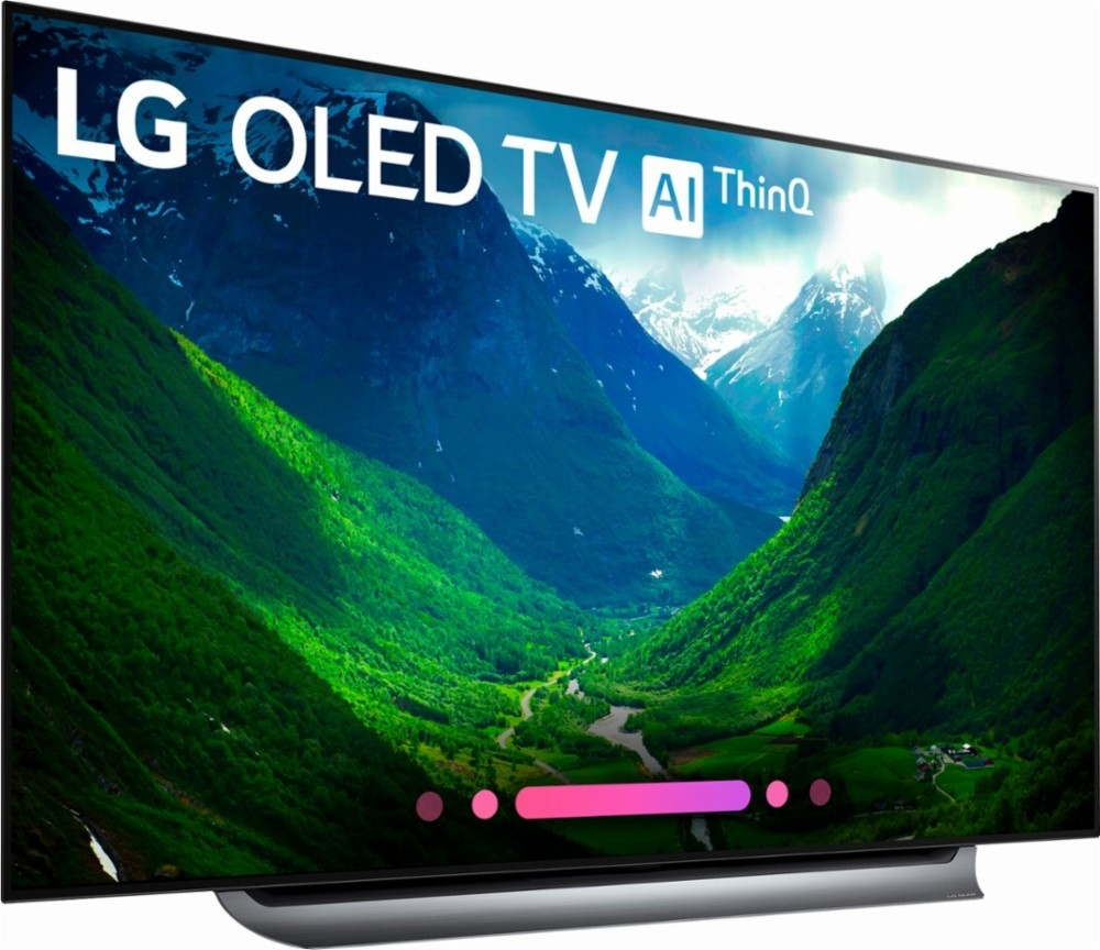 lg oled c8 series 65 2160p smart 4k uhd tv with hdr. Black Bedroom Furniture Sets. Home Design Ideas