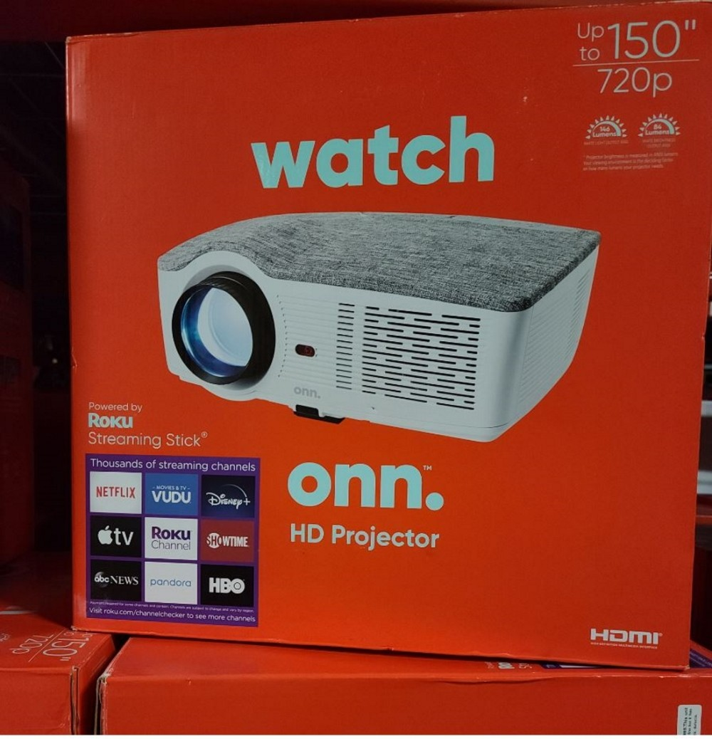 Roku projector onn The Most