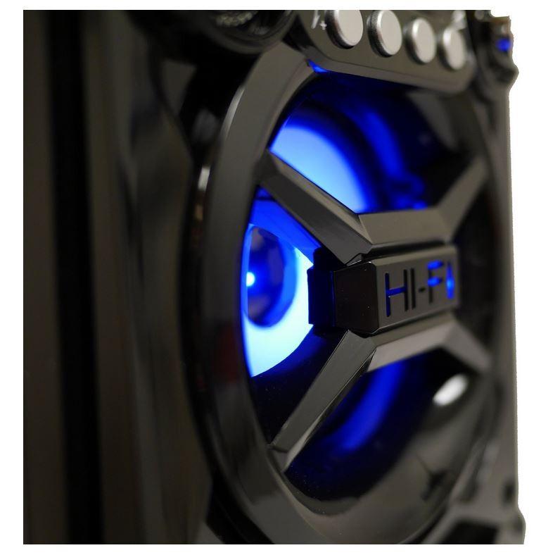 Black Sylvania Portable Bluetooth Speaker SP328-B-BLACK