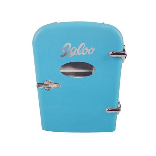 Igloo MIS129-BLUE Mini Beverage Fridge