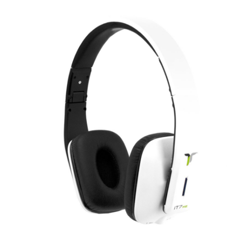 It7x2 On-ear Headphones - White Glossy