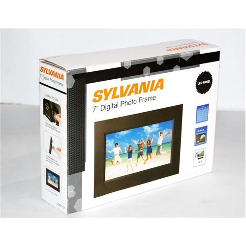 "Sylvania SDPF757 7"" Digital Photo Frame (Certified"