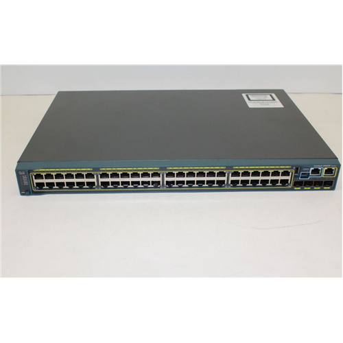 Cisco Catalyst 2960S-F48TS-L 48-p Switch