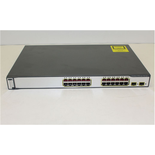 Cisco Catalyst 3750G-24PS 24pt PoE Swtch