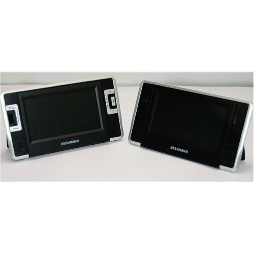 7'' Dual Screen USB SD Remote - Black