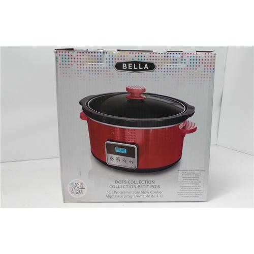 Bella YDE-1325 5Qt Slow Cooker