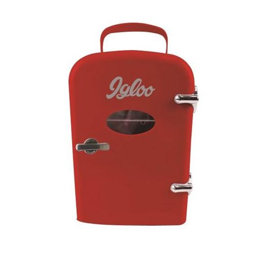 Igloo MIS129-RED Mini Beverage Fridge