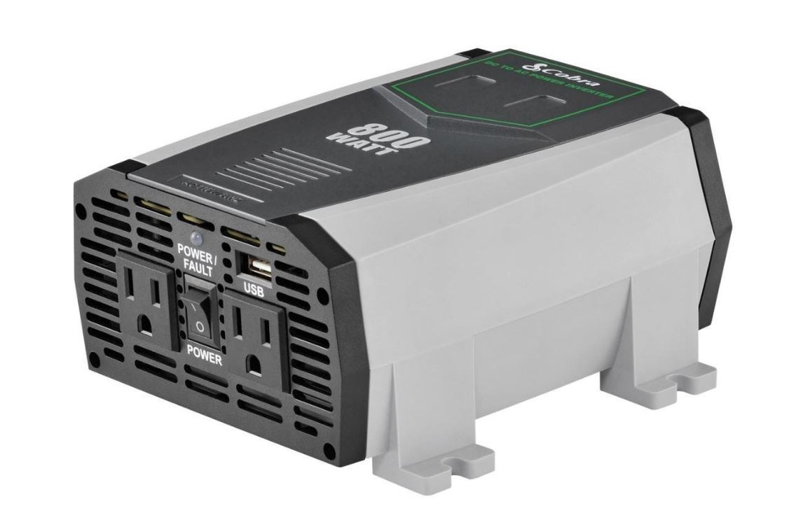 Cobra CPI890 800W Compact Power Inverter (Certified Refurbished)