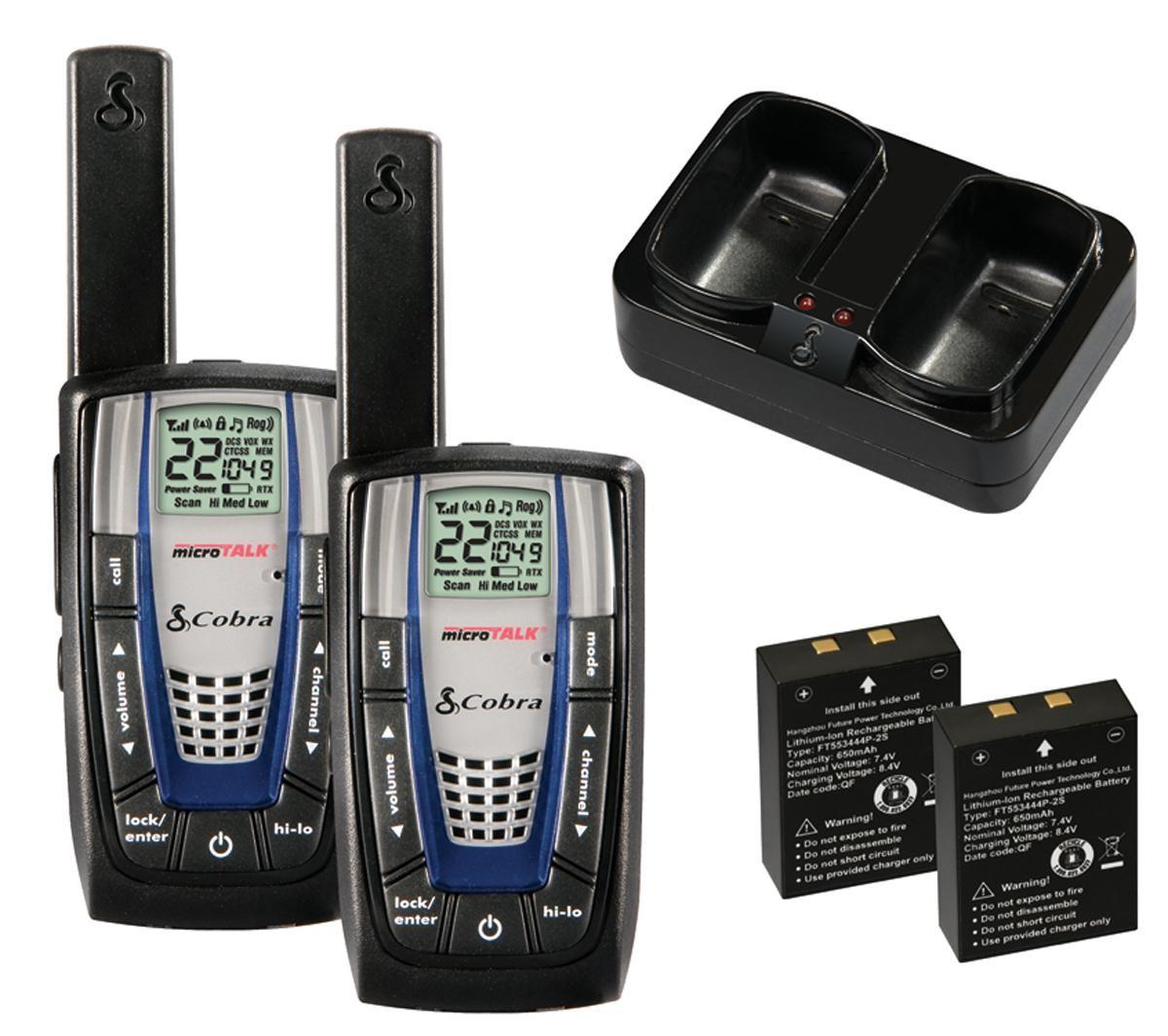 COBRA CXR825 MicroTalk 22Ch 30Mile Radio
