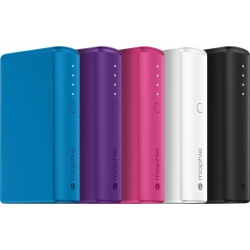 Mophie Power Boost Power Bank 5200MAH 1XUSB Port 2.1A Multiple Colors