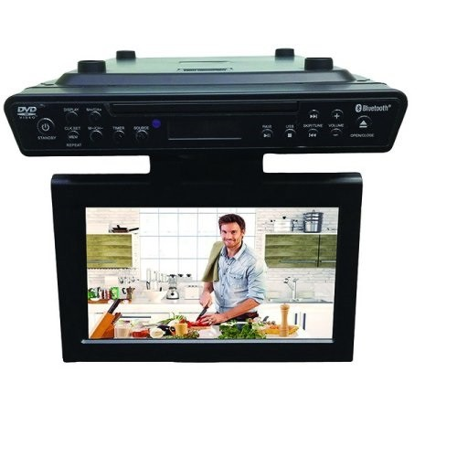 Sylvania SKCR2706BT Under Cabinet TV/DVD