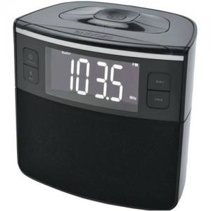 Bluetooth Clock Radio w USB n Dual Alarm