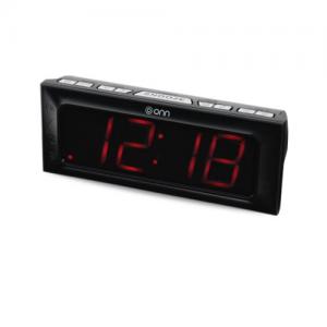 "ONN ONA17AA013 1.8"" LED Alarm Clock"