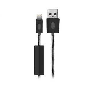 BlueFlame Lightning to USB 1M Cable BLK