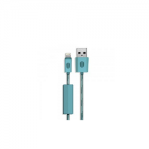 BlueFlame Lightning to USB 1M Cable Blue