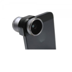 4-in-1 Lens Solution for iPhone 5 BLACK
