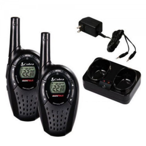 Cobra CXT275 20-Mile 2 Way Radio Walkie Talkie 2-pack (Certified Refurbished)