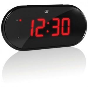 GPX C232-R Dual Alarm AM/FM Clock Radio