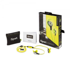 Monster iSport Intensity Headphones-Green