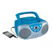 Sylvania SRCD243M-BLUE CD Radio Boombox